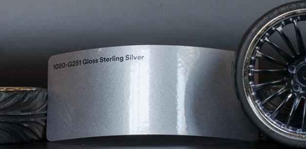 3M 1080-G251 Metallic Gloss Sterling Silver Vinyl