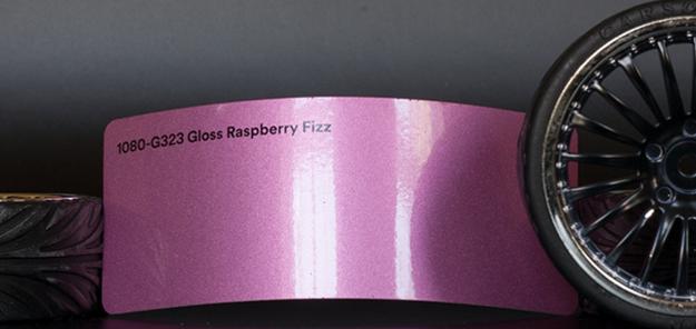 3M 1080-G323 Metallic Gloss Raspberry Fizz Vinyl