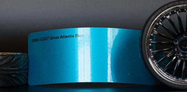 3M 1080-G327 Metallic Gloss Atlantis Blue Vinyl