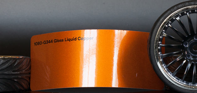 3M 1080-G344 Metallic Gloss Liquid Copper Vinyl