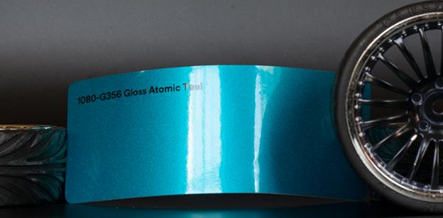 3M 1080-G356 Metallic Gloss Atomic Teal Vinyl