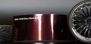 3M 1080-GP99 Gloss Black Rose Vinyl