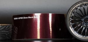 3M 1080-GP99 Gloss Black Rose Vinyl