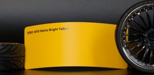 3M 1080-M15 Matte Bright Yellow Vinyl