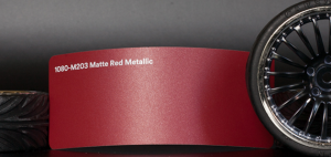 3M 1080-M203 Metallic Matte Red Vinyl