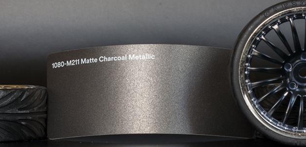 3M 1080-M211 Metallic Matte Charcoal Vinyl