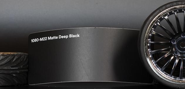 3M 1080-M22 Matte Deep Black Vinyl