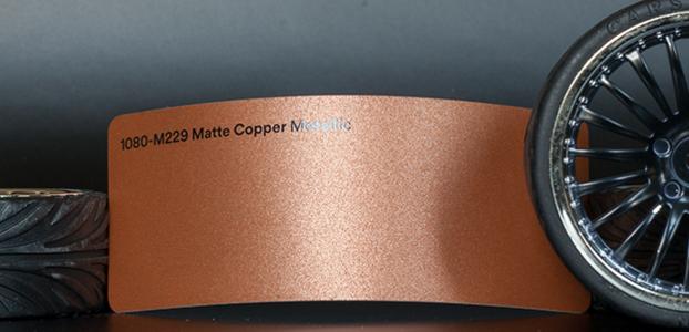3M 1080-M229 Metallic Matte Copper Vinyl