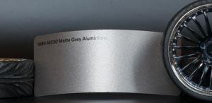 3M 1080-M230 Metallic Matte Grey Aluminium Vinyl