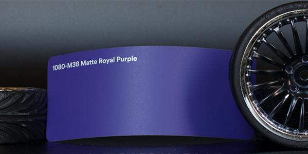 3M 1080-M38 Matte Royal Purple Vinyl