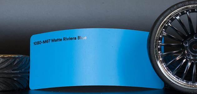 3M 1080-M67 Matte Riviera Blue Vinyl