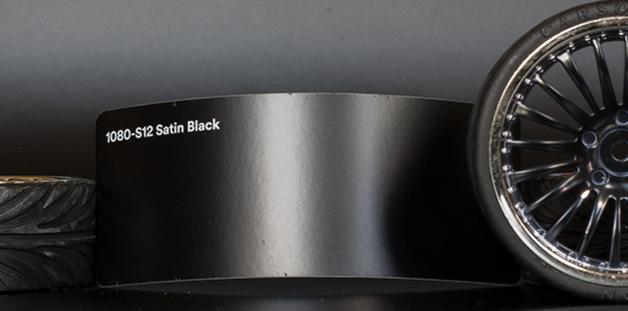 3M 1080-S12 Satin Black Vinyl