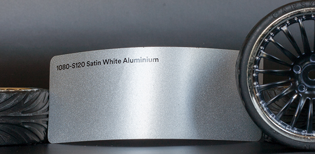 3M 1080-S120 Satin White Aluminium Vinyl