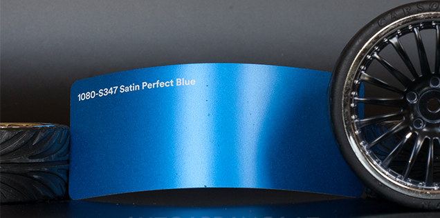 3M 1080-S347 Satin Metallic Perfect Blue Vinyl