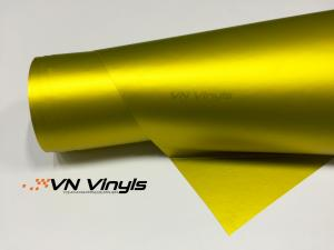 VN WRAP - MATTE LEMON YELLOW METALLIC VINYL