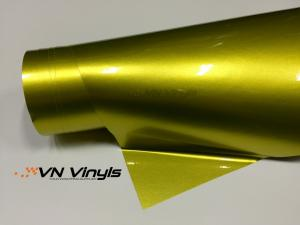 VN WRAP - GLOSS LEMON YELLOW METALLIC VINYL