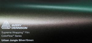 Avery Gloss Urban Jungle Silver & Green