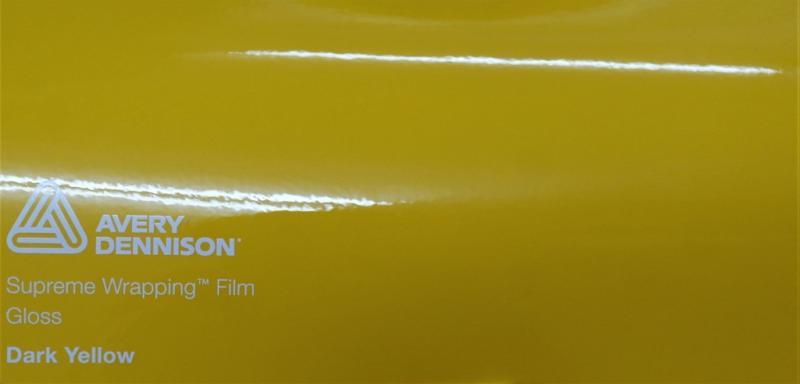 Avery Gloss Dark Yellow
