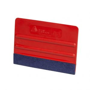 Avery Filt skrapa Röd 10cm