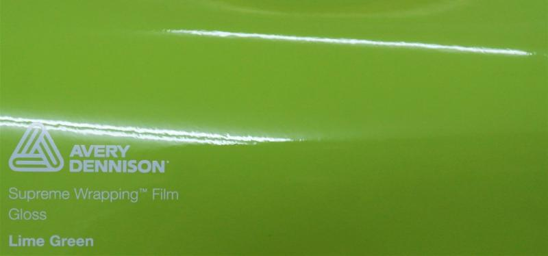 Avery Gloss Lime Green