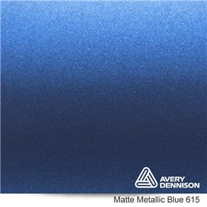 Avery Matte Metallic Blue
