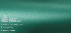 Avery Matte Metallic Emerald Green