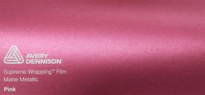 Avery Matte Metallic Pink