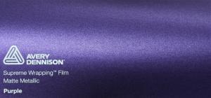 Avery Matte Metallic Purple