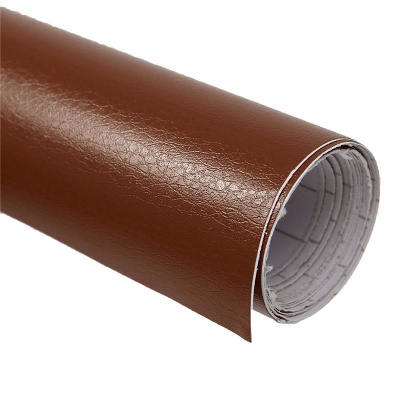 VN Wrap - Brun Läder Vinyl