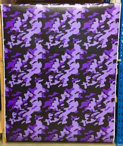 VN Wrap - Purple Haze Camo Vinyl