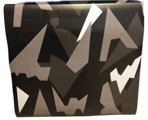 VN WRAP - BIG DARK URBAN CAMO VINYL