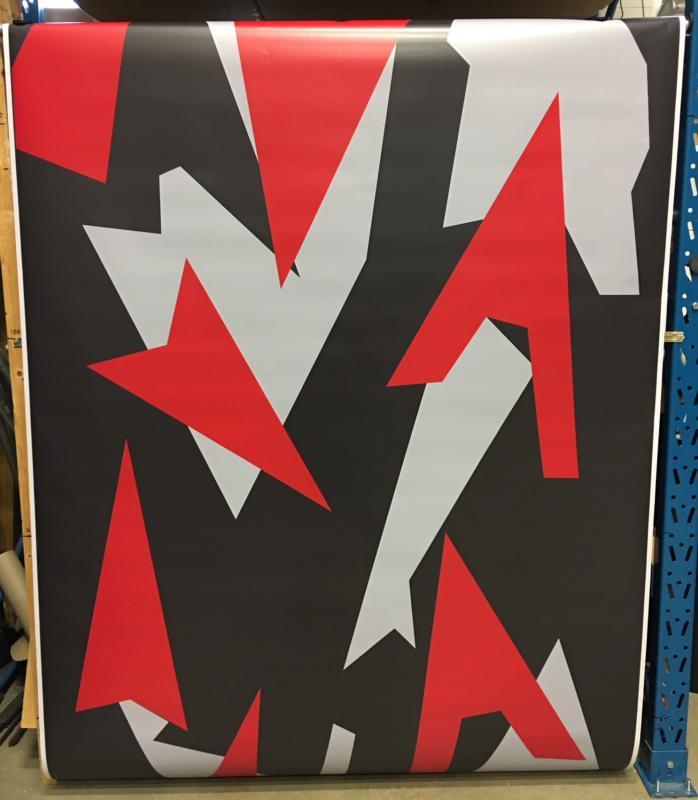 VN Wrap - BIG Red Urban Camo Vinyl