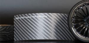 3M 1080-CF201 Carbon Fiber Anthracite Vinyl