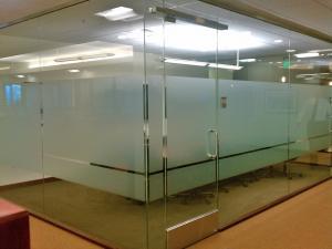 Välkända Frostad fönsterfilm för kontor JD-81