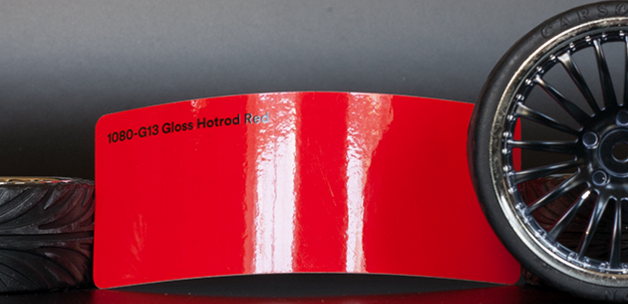 3M 1080-G13 Gloss HotRod Red Vinyl