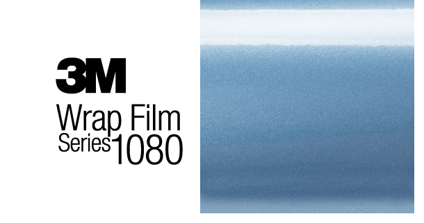 3M 1080-G247 Gloss Ice Blue Vinyl