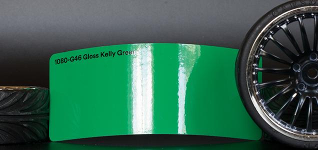 3M 1080-G46 Gloss Kelly Green Vinyl