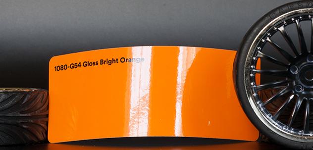 3M 1080-G54 Gloss Bright Orange Vinyl