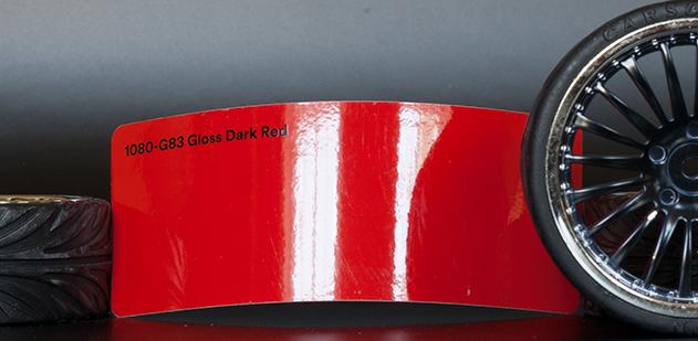 3M 1080-G83 Gloss Dark Red Vinyl