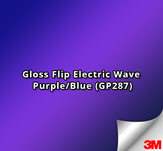 3M 1080-GP287 Gloss Flip Electric Wave Vinyl