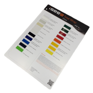 iSee2 Färgkort A4 Blank