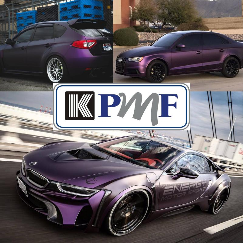 KPMF Matt Purple Black Iridescent K75565 Vinyl