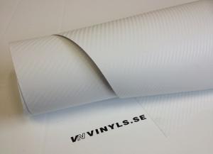 VN WRAP - 3D VIT KOLFIBER VINYL