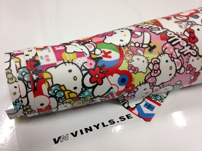 VN WRAP - STICKERBOMB VINYL MODELL 5