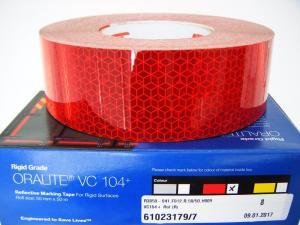Oralite VC104+ C Röd Reflextejp