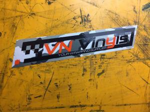 VN Vinyls Klistermärke Camo design