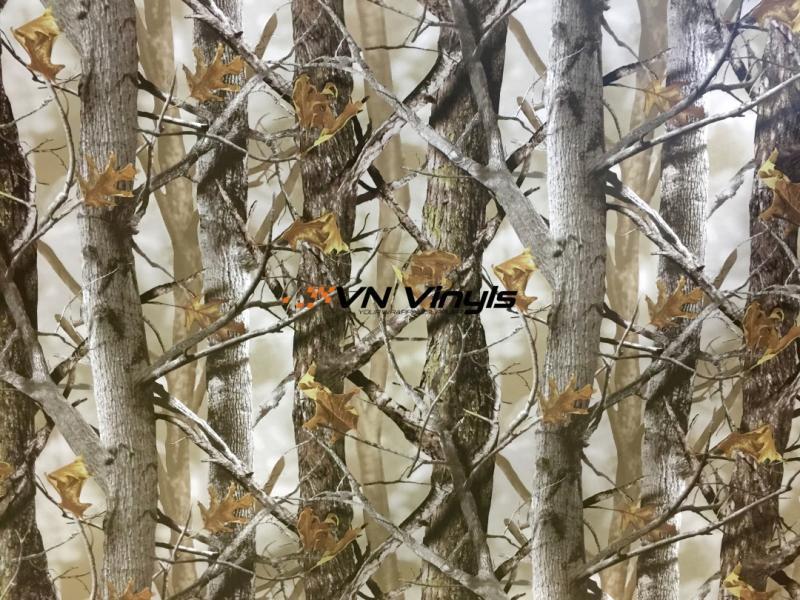 VN WRAP - FOREST CAMO AUTUMN VINYL