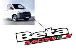 Dekal Beta Racing 96x23cm