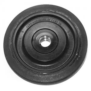 Boggiehjul 133mm