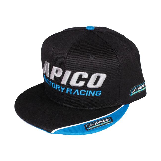 Keps Apico Factory Racing,  svart
